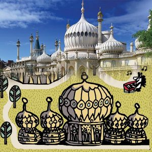 Brighton Car Play Mat | Royal Pavilion Comparison | Best Kids Toys 2020, Toys for Toddlers, Educational Toys